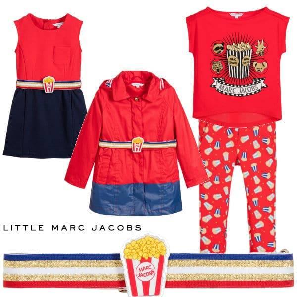 Little Marc Jacobs Girls Popcorn Trend SS17