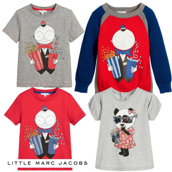 Little Marc Jacobs Movie Popcorn Usher Tshirts