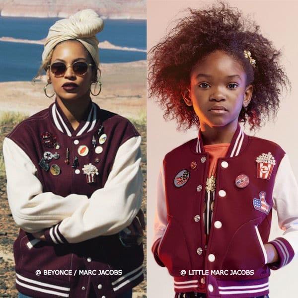 Mini Me Beyonce Marc Jacobs Cinema Varsity Jacket