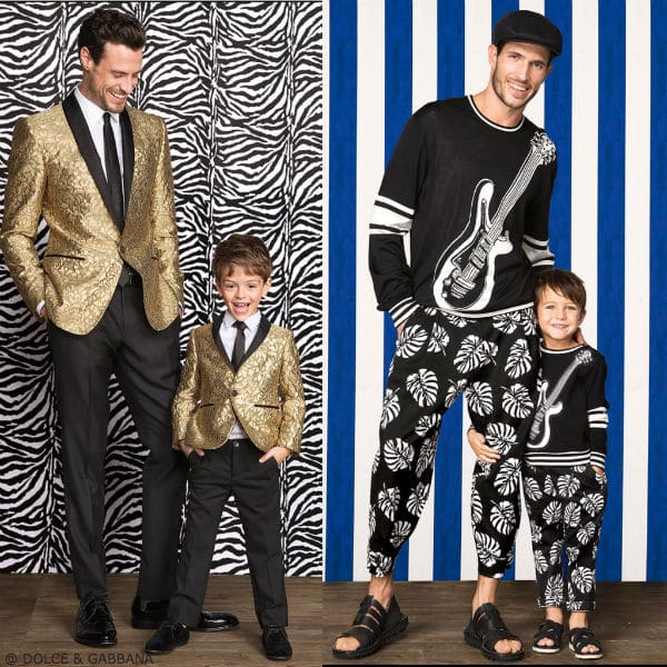 Dolce & Gabbana Boys Mini Me Music Trend Look Spring Summer 2017