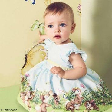 MONNALISA BEBE Baby Girls Disney Bunny Outfit