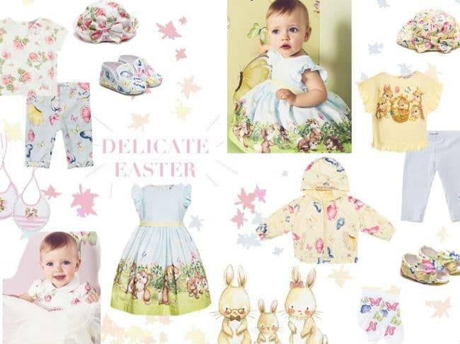 Monnalisa Delicate Easter Theme Board - Spring 2017