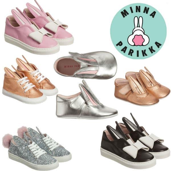 Minna Parikka Mini Girls Bunny Shoes