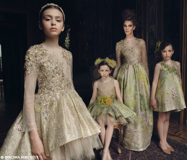 Mischka Aoki Spring Summer 2017 Collection - Dancing With The Queen Dress
