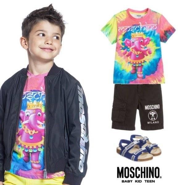 Moschino Kids Mini Me 70s Vibe Elephant Jewels trend