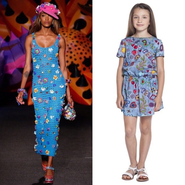 Moschino Kids Mini Me 70s Vibe Hippie Trend