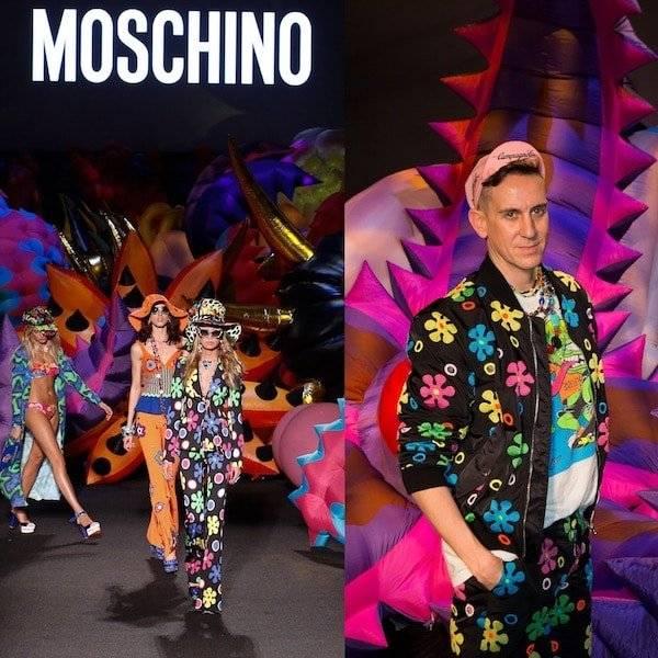 Moschino Spring Summer 2017 70s Vibe Runway Show - Designer Jeremy Scott