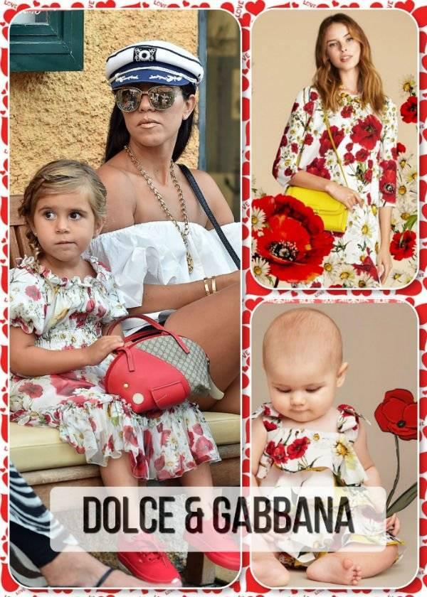 Penelope Disick Dolce Gabbana Portofino Italy