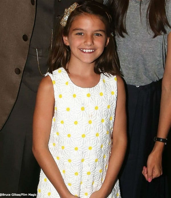 Suri Cruise Kate Holmes Finding Neverlands Broadway Show
