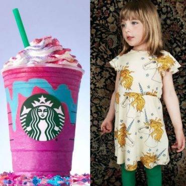 Unicorn Frappuccino vs Unicorn Girls Fashion