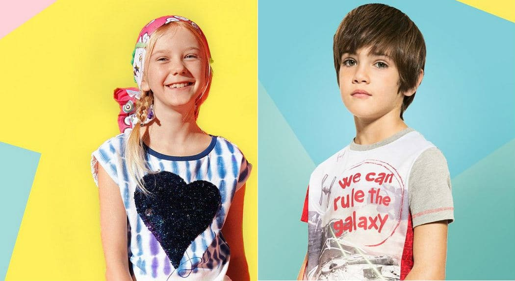 Desigual Kids Clothing from Spain