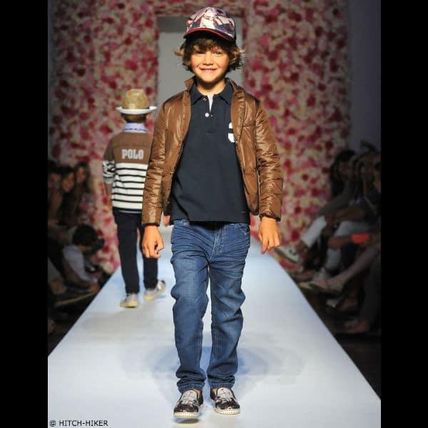 HITCH-HIKER Boys Leather Jacket