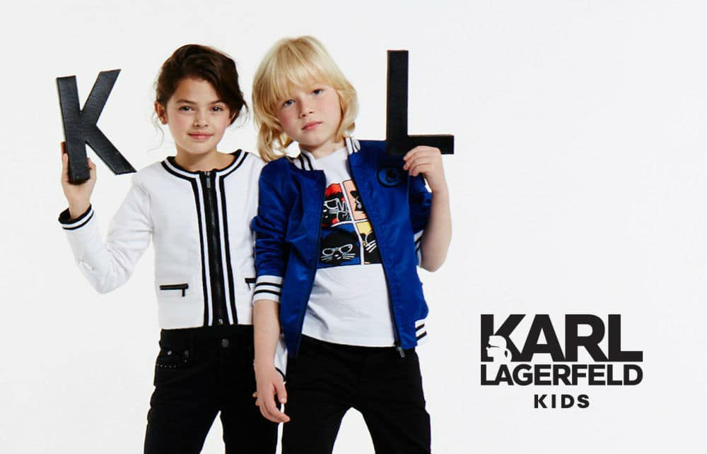 Karl Laggerfeld Kids Mini Me Clothing