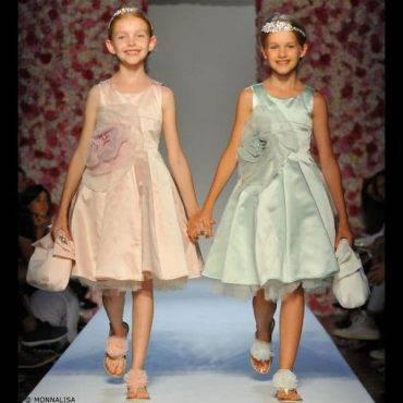MONNALISA Girls Fashion Show Dress