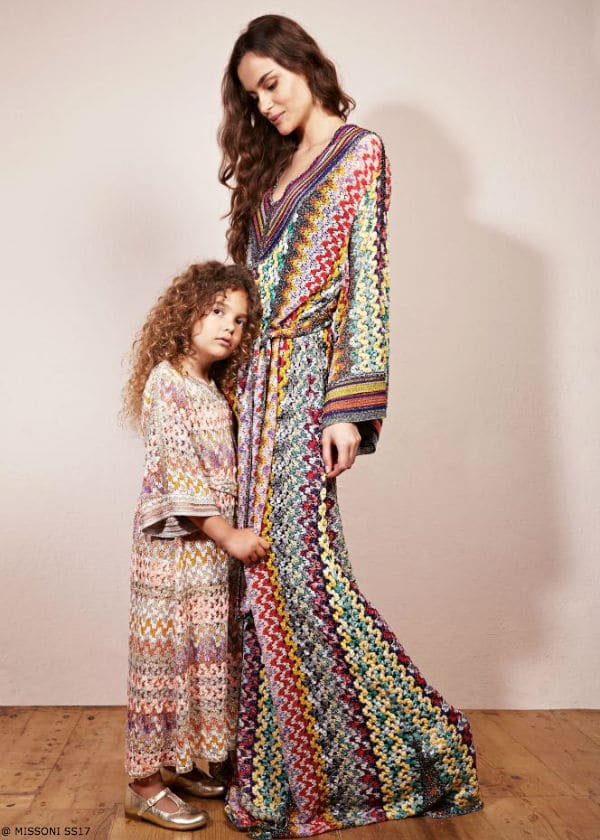 Missoni Girls Minimiss Capsule Collection Spring Summer