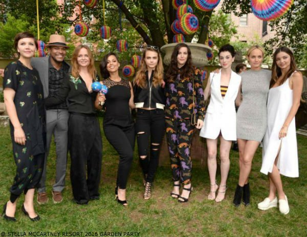 Stella McCartney Resort 2016 Garden Party
