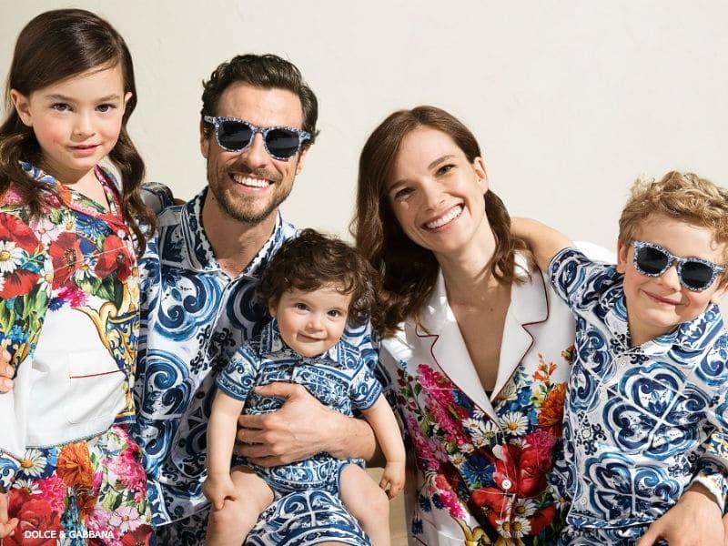 58c816a977c0d Dolce Gabbana Boys Mini Me Capri Collection FW17   Dashin Fashion