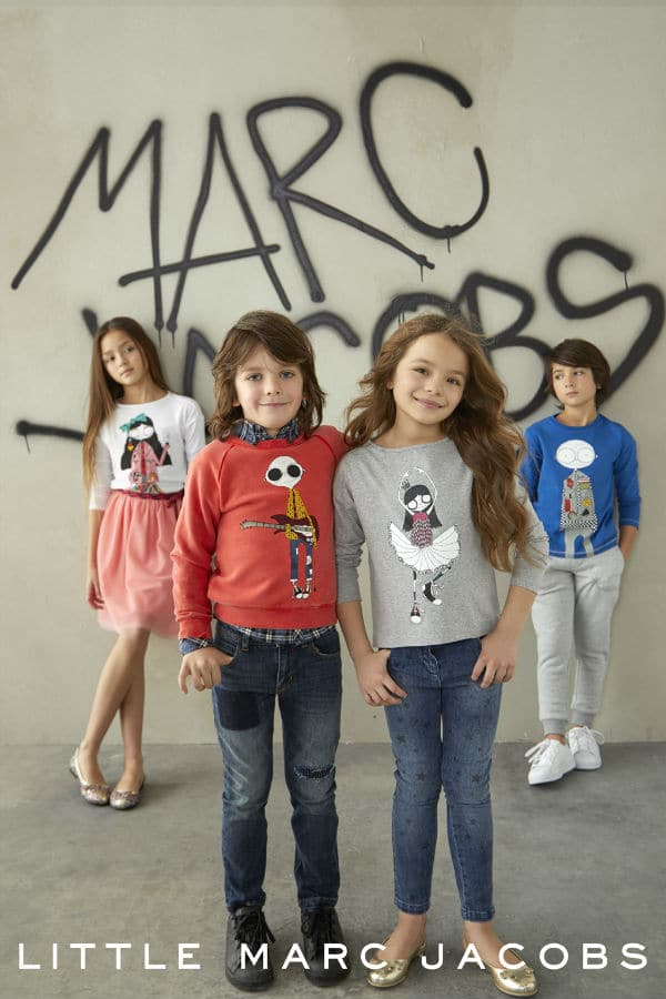 Little Marc Jacobs Kids Mini Me Fall Winter 2018
