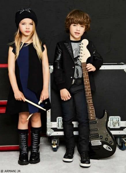 Armani Junior FW17 School of Rock