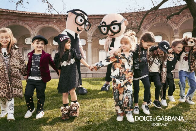 Dolce Gabbana Baby Kids Fall Winter 2017-18 Campaign