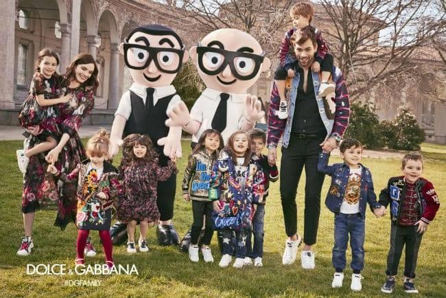 Dolce & Gabbana Kids Fall Winter 2017-18 Advertisement