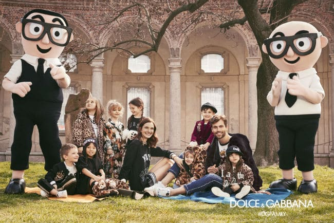 Dolce Gabbana Mascot Children FW17-18 Campaign