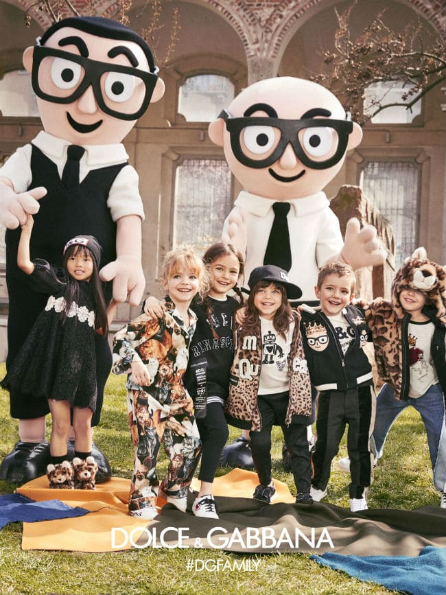 Dolce gabbana Child Advertising Campaign Fall Winter 2017-18