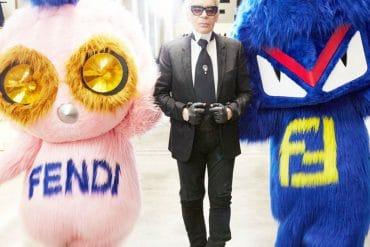Fendirumi Karl Lagerfeld Fendi Fall 2016 Fashion Week