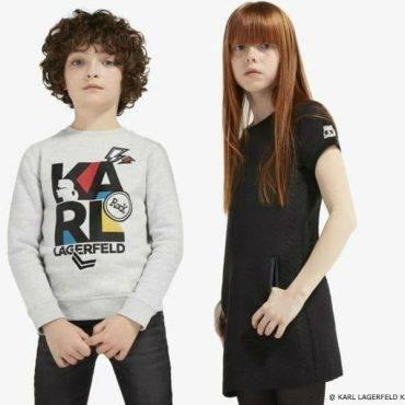 Karl Lagerfeld Kids Mini Me Collection FW17-18