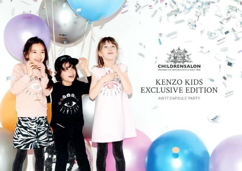 Kenzo Kids Exclusive Edition Childrensalon FW17