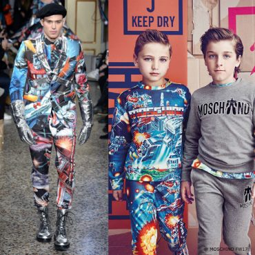 Moschino Boys Mini Me Transformers Outfit