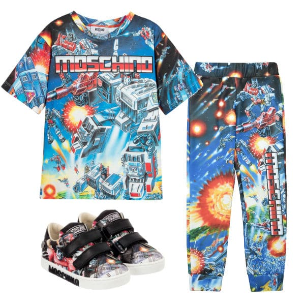 Moschino Kids Boys Transformers Outfit