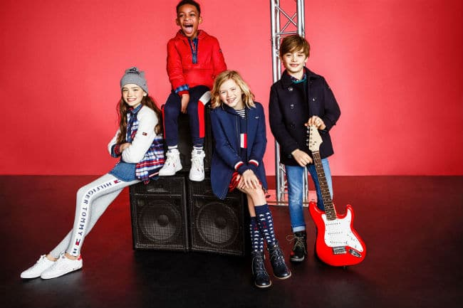 TOMMY HILFIGER KIDS ROCK CIRCUS FW17