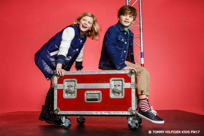 Tommy Hilfiger Kids Rock Circus Collection Fall 2017