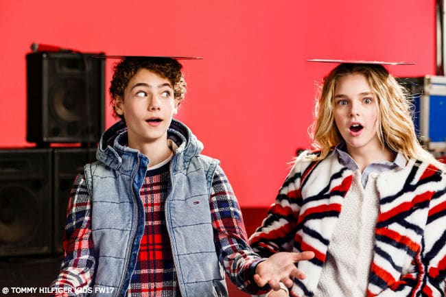 Tommy Hilfiger Kids Rock Circus Fall 2017