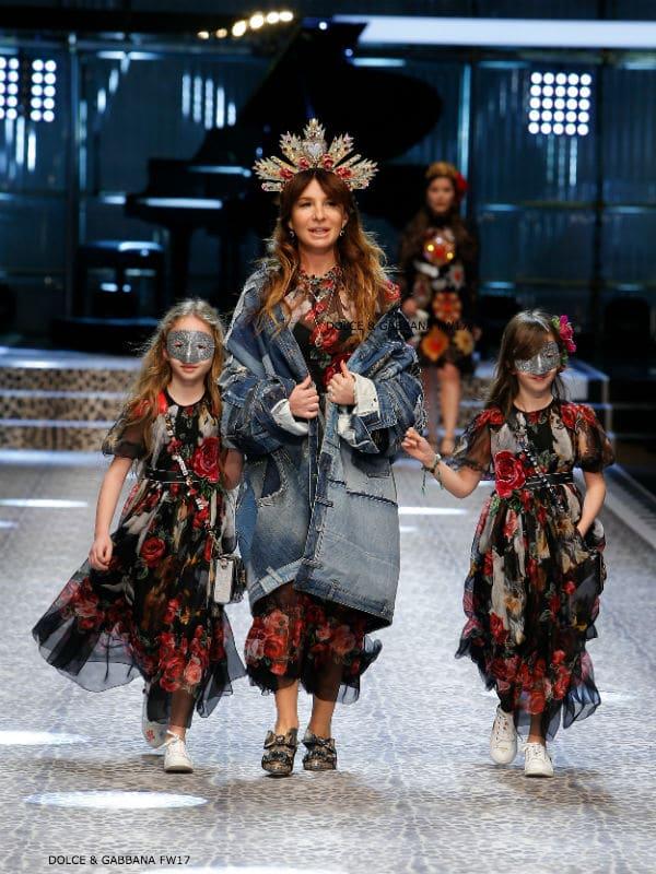 Stella Aminova Dolce and Gabbana Fall Winter 2017-18 Fashion Show
