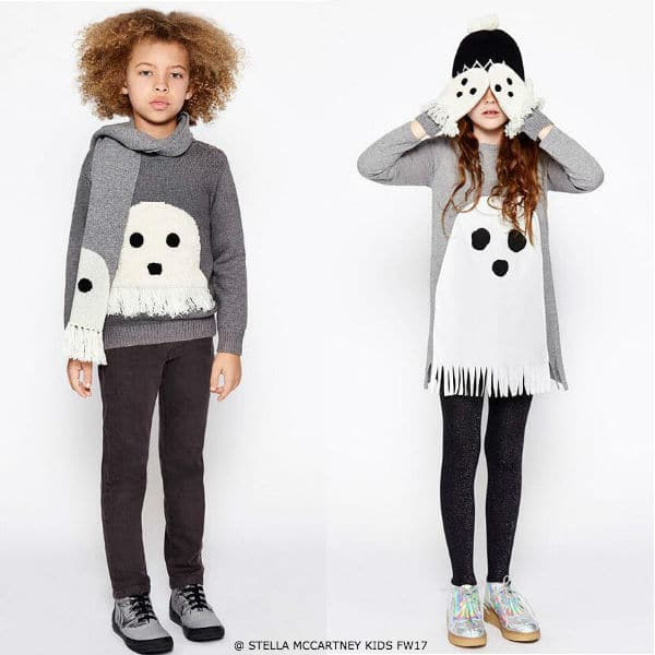 Stella McCartney Kids Stellaween Halloween Ghost Outfits