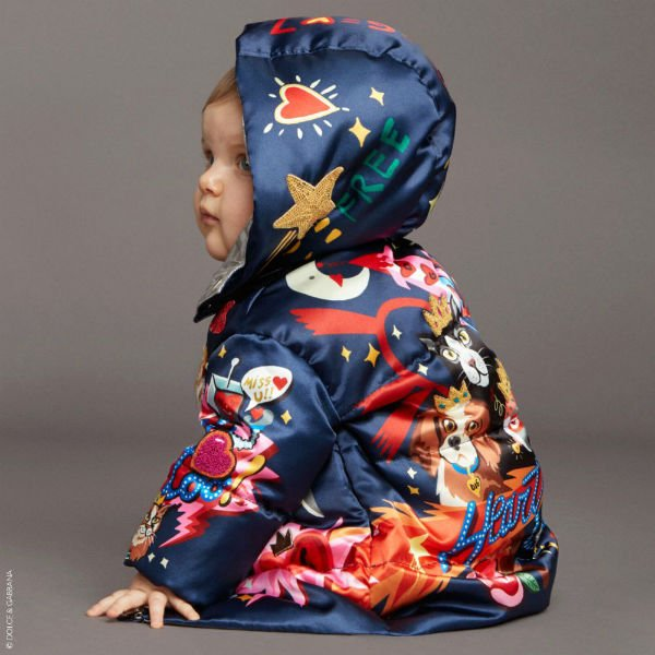 DOLCE & GABBANA Baby Space Down Padded Coat