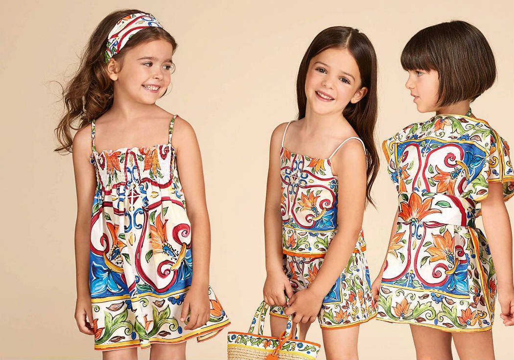 Dolce & Gabbana Designer Kids Clothes from Italy