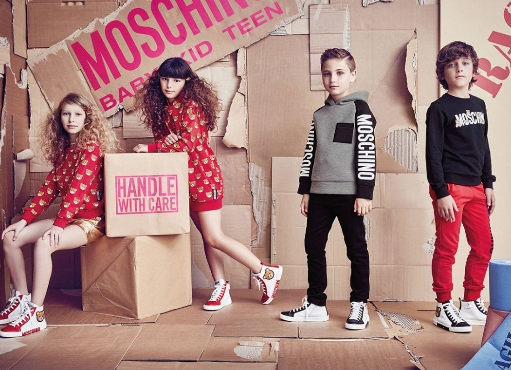 Shop Moschino Kids Designer Clothes from Italy