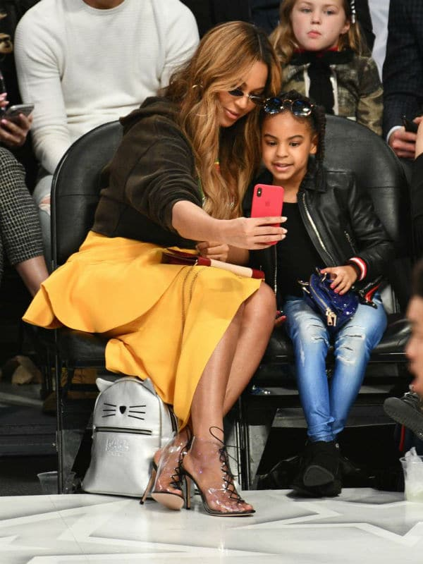 BLUE IVY Beoyonce NBA ALL STAR GAMES 2018