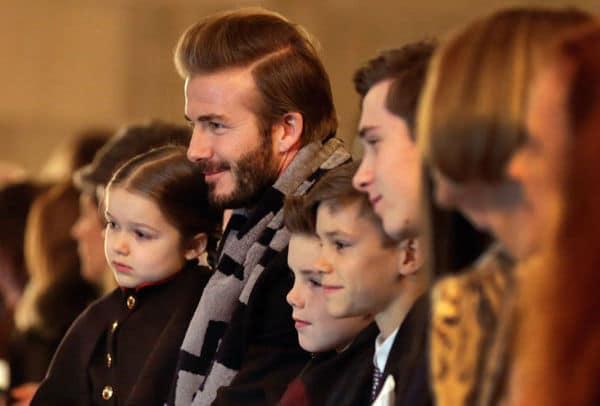 Beckham Family New York Fashion Week 2016