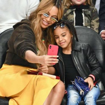 Blue Ivy Givenchy Streetwear Style - NBA All Star Game