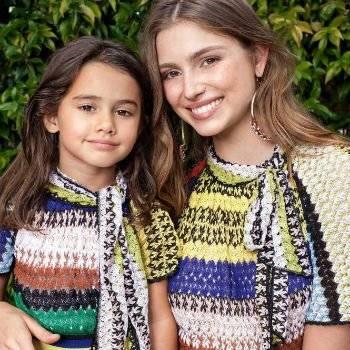 Missoni Girls Mini Me Knit Striped Dress for Spring Summer 2018