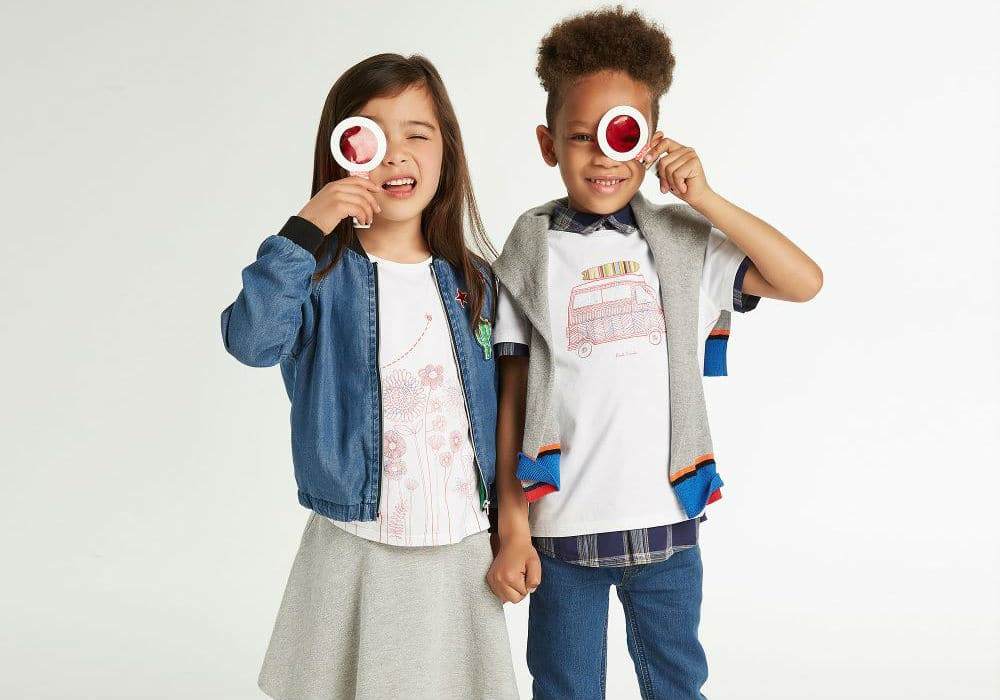Shop Paul Smith Junior Designer Kids Clothes from UK