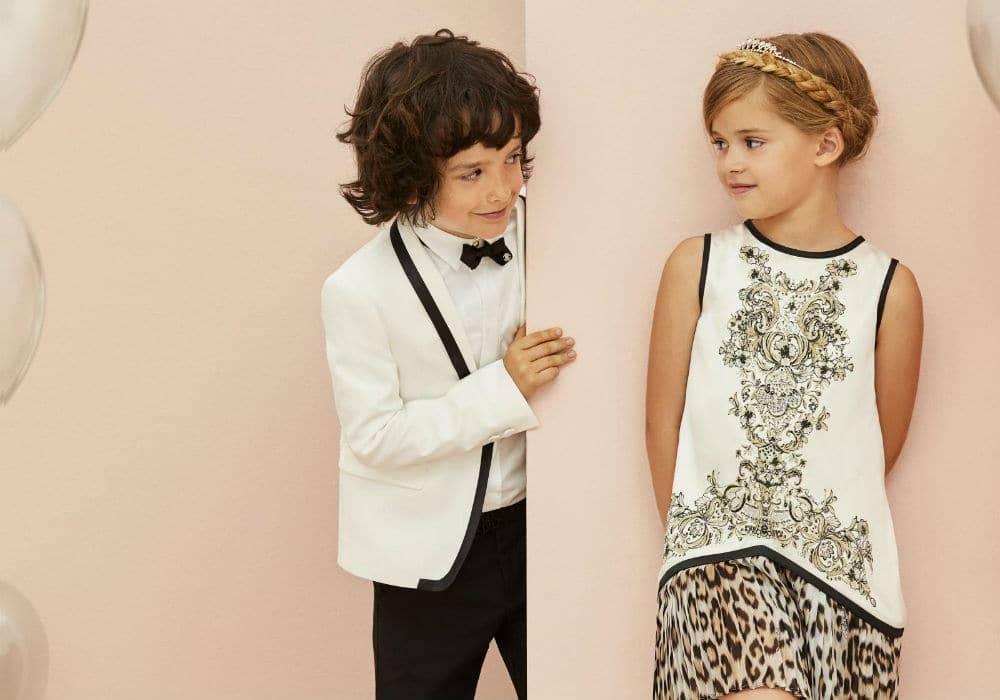 Roberto Cavalli Junior Designer Children's Clothing from Italy