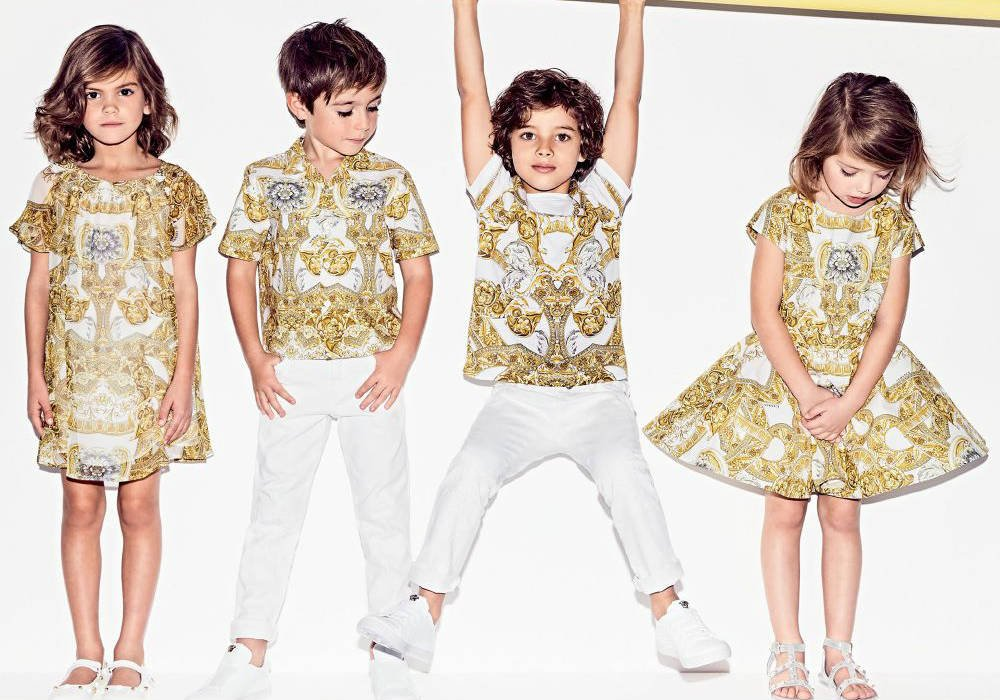 Shop Young Versace Designer Kids Clothes