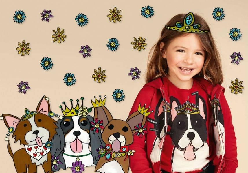 dolce gabbana girl year of the dog spring summer 2018