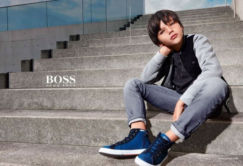hugo boss kids wear