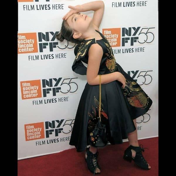 Brooklynn Prince Junona Black Swan Dress New York Film Festival 2017